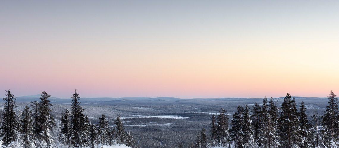 Lapland in spring